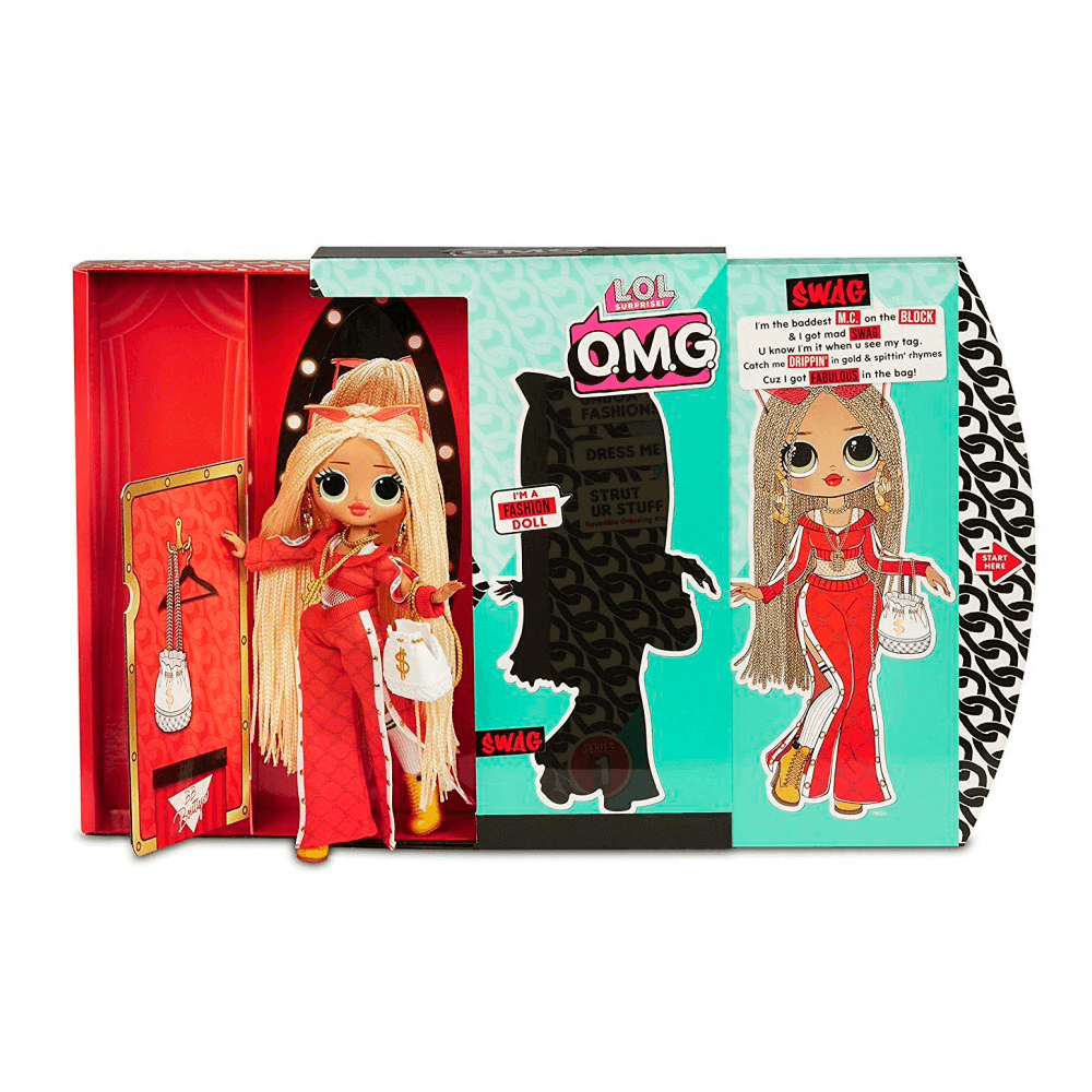 Большая кукла LOL Surprise OMG Swag Fashion Doll с 20 сюрпризами